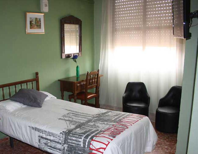 Habitación del Hotel Vázquez Díaz en Nerva